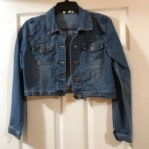 Junior girls jean jacket